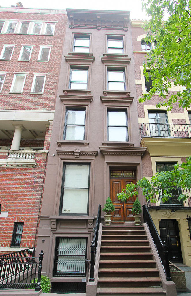 Exterior View of 38 East 70th Street