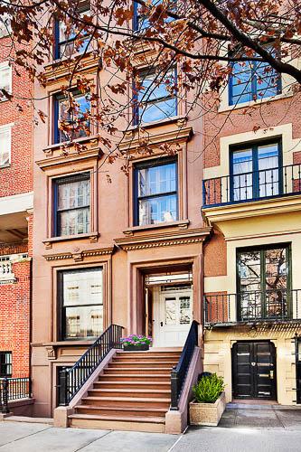 Front Door to 38 East 70th Street